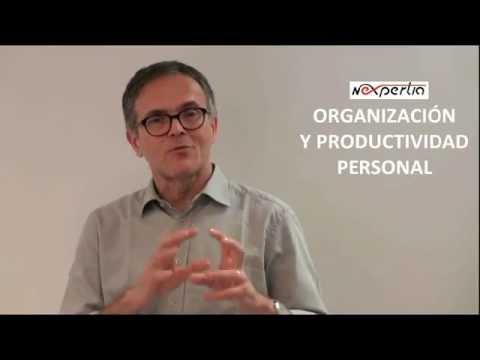 Organización y productividad personal