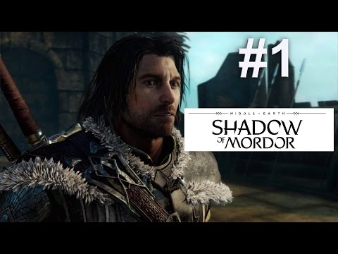Middle Earth : Shadow Of Mordor (PS4) #1 Prologue Walkthrough Gameplay