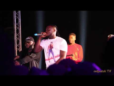 """NotjustOk TV: Davido and DMW Crew Shut Down """"Afro Beach Rave"""" With Electrifying Performance"""