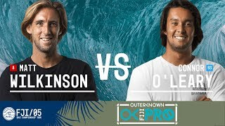 Connor O'Leary and Matt Wilkinson paddle out in the Final at the 2017 Outerknown Fiji Pro. Subscribe to the WSL for more action:...