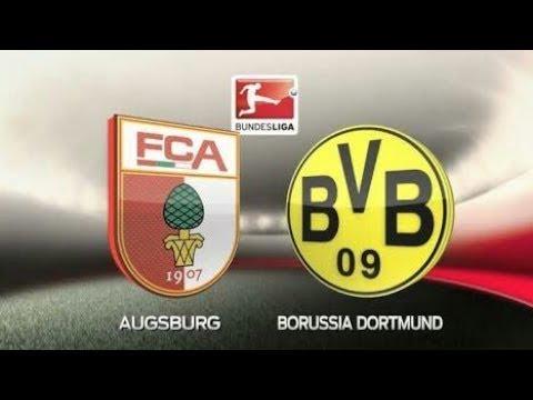 Augsburg vs Dortmund 1-2 All Goals & Highlights (30/09/2017) - BUNDESLIGA  8