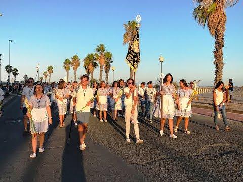 Ofrenda Floral 2019 en honor a la Virgen del Mar de Punta del Caimán.