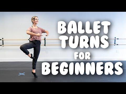 How To Do Basic Ballet Turns- Beginner Ballet Turn Tutorial