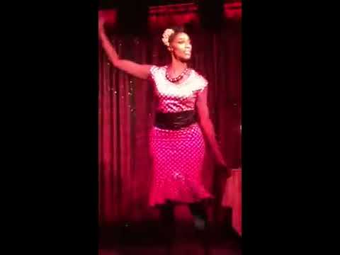 """Sapphira Cristal """"A Woman Of The Ghetto"""" at Cherry's On The Bay (видео)"""