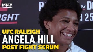 UFC Raleigh: Angela Hill Plans To Say 'Yes' To Every Fight Offer In 2020 - MMA Fighting by MMA Fighting