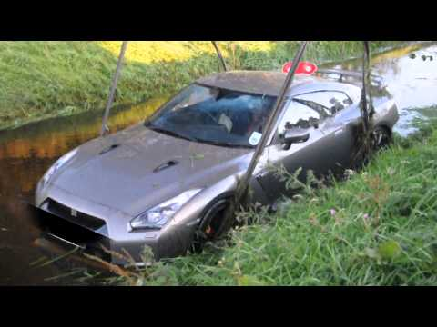 GTR found submerged in a water-filled ditch