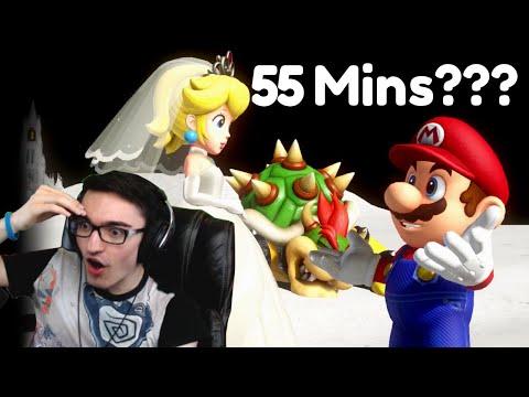 Reacting to the PERFECT Mario Odyssey Speedrun (55:28 - Human TAS)