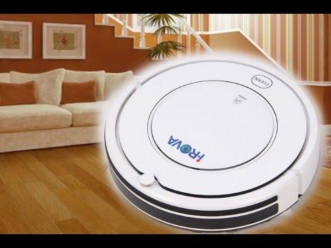 Robot Vacuum Cleaner Ultra Slim iRova KK8 with Auto Charge