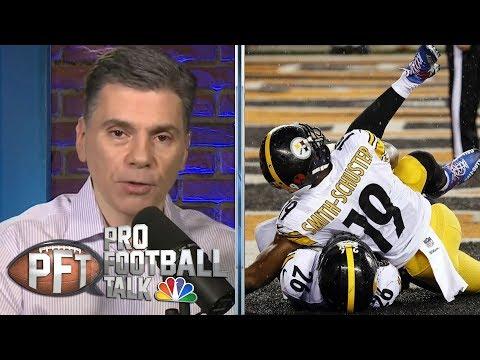 Big Ben will help Steelers' receivers improve | Pro Football Talk | NBC Sports