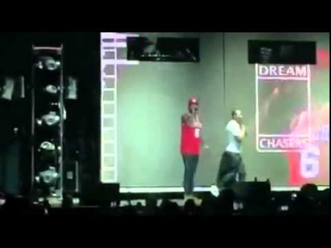 Meek Mill Disses Drake Live In Philly