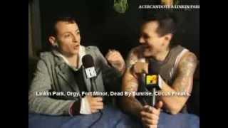 """Una excelente broma de Chester respecto a un hipotetico Festival con todas las bandas donde estan ellos, llamado """"The..."""