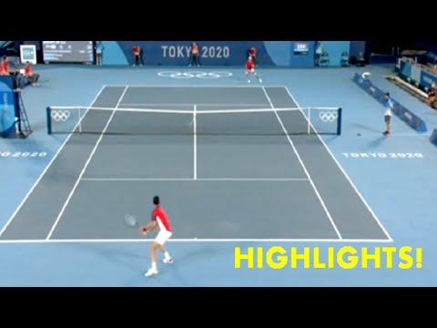 Novak Djokovic vs Kei Nishikori | Quarter Finals | Tokyo Olympics