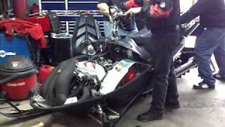 10. 1430cc polaris triple sled 330hp
