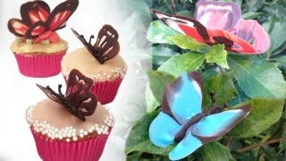 Chocolate Butterfly Decoration Tutorial