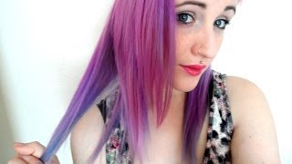 Mystic Heather Purple. 3 Tone Hair Dye Tutorial. - YouTube