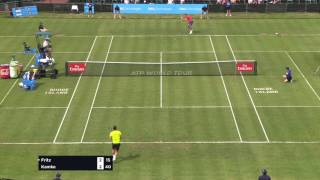 Tobias Kamke ends a lengthy exchange with Taylor Fritz in the Newport first round by blasting a forehand winner. Video courtesy: Dell Technologies Hall of Fame OpenSubscribe to our YouTube Channel: http://bit.ly/2dj6EhWVisit the official site of men's professional tennis: http://www.atpworldtour.com/FOLLOW THE ATP WORLD TOURWatch live and on demand: http://www.tennistv.com/Check live scores: http://www.atpworldtour.com/en/scoresView the latest rankings: http://www.atpworldtour.com/en/rankingsMeet the players: http://www.atpworldtour.com/en/playersFollow the tournaments: http://www.atpworldtour.com/en/tourna...Catch up on tennis news: http://www.atpworldtour.com/en/newsJOIN THE CONVERSATION!Download MyATP: http://www.myatp.com/Like us on Facebook: https://www.facebook.com/ATPWorldTour/Follow us on Twitter: https://twitter.com/ATPWorldTourFollow us on Instagram: https://www.instagram.com/atpworldtour/Follow us on Google+: https://plus.google.com/+ATPWorldTour