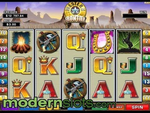 Western Frontier Slot Machine at ModernSlots.com