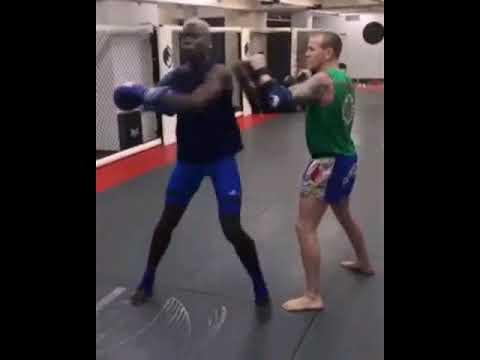 Must Watch : Zlatan Taekwondo Kick Vs Pogba Kickboxing(Kick)