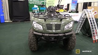 10. 2013 Arctic Cat 400 - Walkaround - 2014 Toronto ATV Show