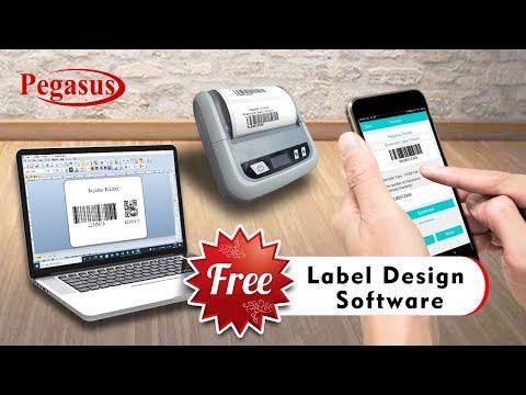 Pegasus ML803 Receipt & Label Printer