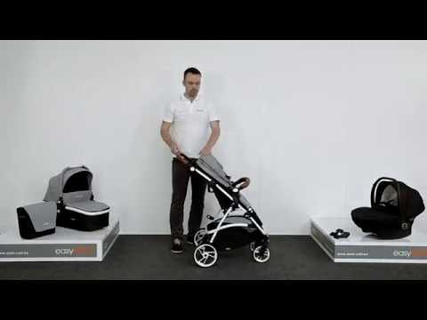 3-in-1 Kombikinderwagen easyGO Optimo: Kinderwagen im Funktionstest von LCPKids