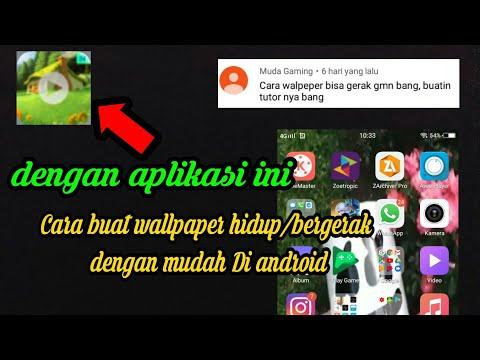 Cara buat wallpaper hidup/bergerak Di Android terbaru 2019 tutorial#4