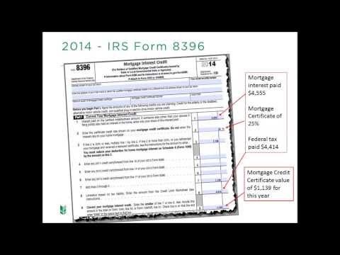 WHEDA Tax Advantage MCC (Mortgage Credit Certificate)