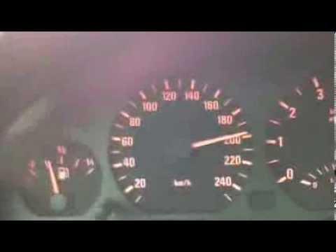 BMW E46 328i Acceleration 0-220 Automatic