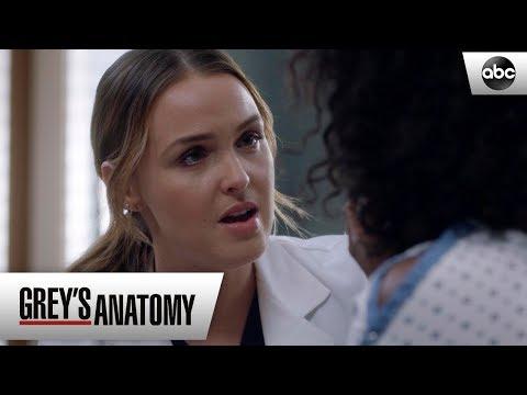 Jo Shares Her Story - Grey's Anatomy Season 15 Episode 19