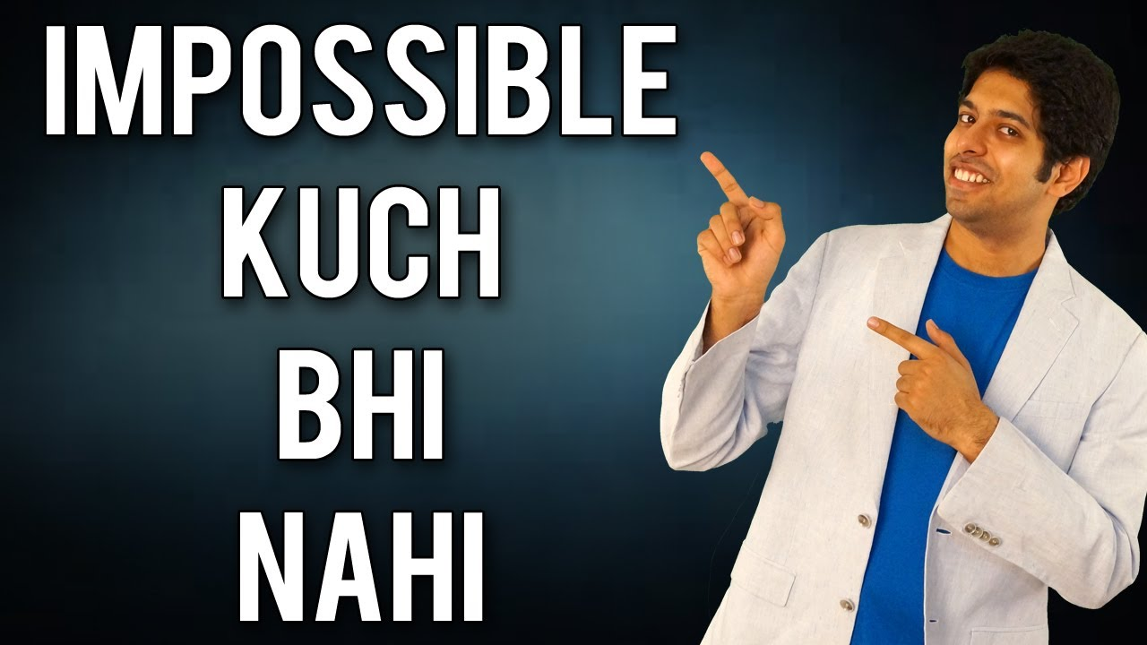 Nothing is Impossible : Motivational Lessons from a IPL Cricket Match