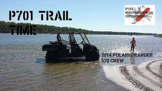 7. Off-Road Trail Time - 2014 Polaris 570 CREW