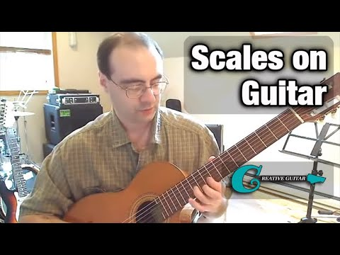 How Scales Work on the Guitar Fretboard…