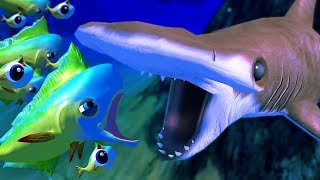 Hammerhead shark attacks everything feed and grow fish for Feed and grow fish online