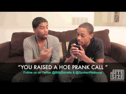 "You Raised A Hoe AKA the ""Sapp Sucka"" Prank Call With @SpokenReasons and @BillySorrells"