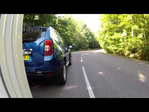 Practical Caravan's Dacia Duster tow car test