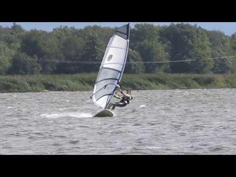 windsurfing – pierwsze ślizgi