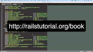 Ruby On Rails Tutorial Advanced Setup