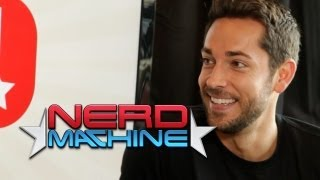 Exclusive Interview - Nerd HQ 2013 Subscribe to The Nerd Machine: http://goo.gl/Le9ha Zachary Levi - Nerd HQ Kick-Off Video with Alison Haislip (2013) HD Z...