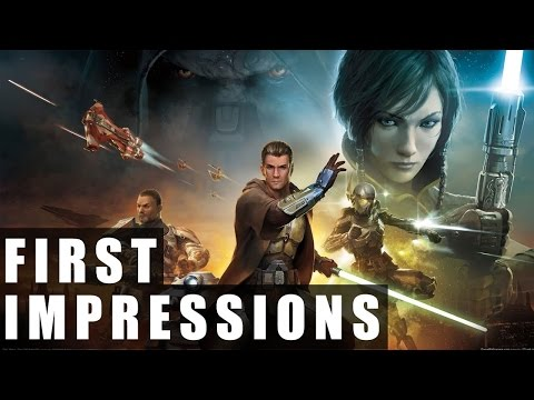 Star Wars: The Old Republic Free to Play Gameplay | First Impressions HD