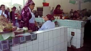 Tashkent Uzbekistan  City pictures : BAZAR IN TASHKENT - UZBEKISTAN = ESKI-JUVA BAZAR ( O.A.J. EKSI-JUVA DEHQUON BOZORI ) 21.10.09.AVI