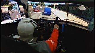 Euro Truck Simulator 2 EAA - Volante LOGITECH G29 - TRIPLE SCREEN - Porto Alegre a Lajeado
