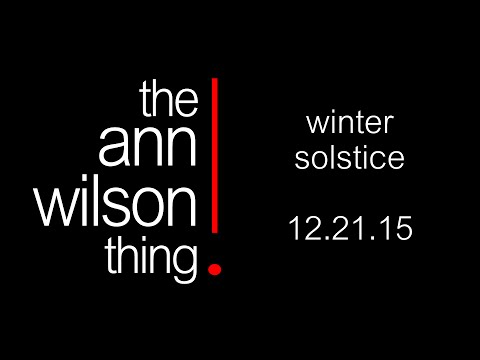 the ann wilson thing - winter solstice card