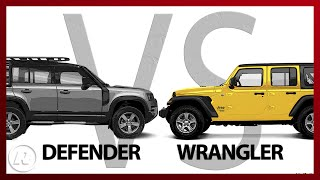 2020 Land Rover Defender vs. Jeep Wrangler Rubicon: There can be only one by Roadshow