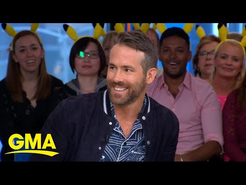 Ryan Reynolds on his 'Pokémon Detective Pikachu' role