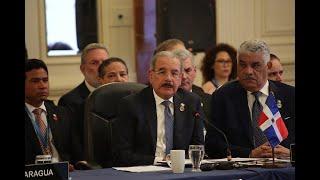 LIII Reunión de Jefes de Estado y de Gobierno del SICA, Guatemala. Discurso