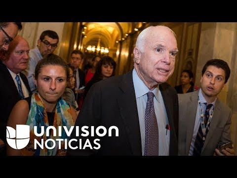 Senadores republicanos se rebelaron yacabaron con los esfuerzos de su partido por anular Obamacare