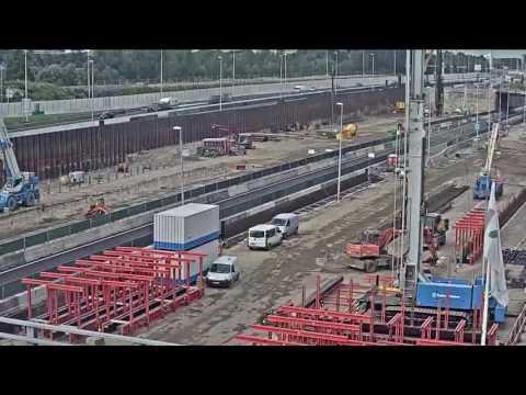 Строительство тоннеля в Нидерландах: 9 месяцев за 1 минуту - Центр транспортных стратегий