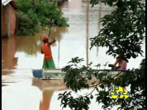 Enchente Rio Casca - Vista Alegre e Águas Ferreas I