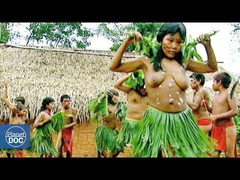 Indigenous women dancing