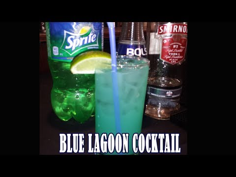 Blue Lagoon Drink | How to Make Blue Lagoon Cocktail